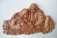 Резная Икона Рождение Христа